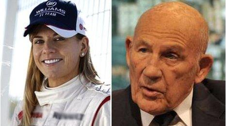 Susie Wolff, Sir Stirling Moss