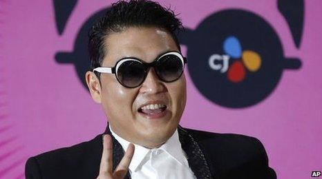 3e54beb631 Psy s new track gets 100 million web views on YouTube - BBC Newsbeat