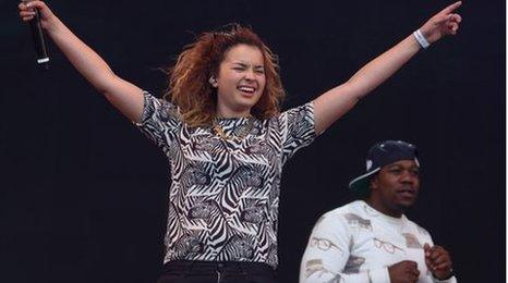 Ella Eyre with Rudimental's DJ Locksmith