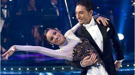 Flavia Cacace and Vincent Simone
