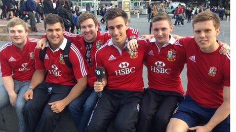 University of Nottingham Lions fans