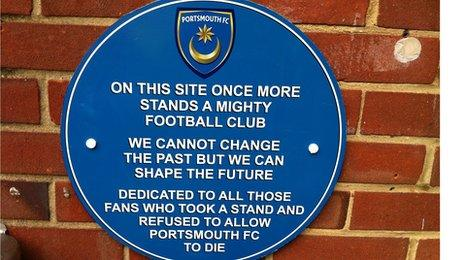 Portsmouth plaque