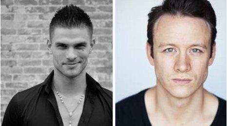 Aljaz Skorjanec (L) and Kevin Clifton (R)