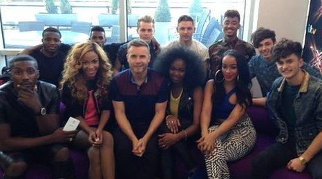 Gary Barlow and The X Factor groups