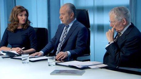 The Apprentice boardroom