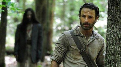 Walking Dead fifth series confirmed for 2014 by AMC - BBC Newsbeat