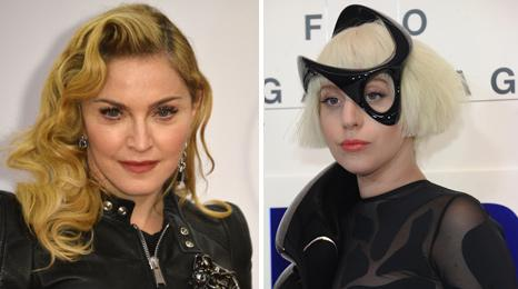 Madonna and Lady Gaga