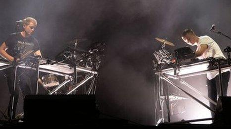 Disclosure at Reading festival 2013