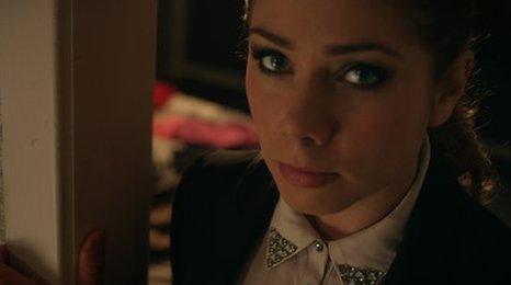 Actor Nikki Sanderson