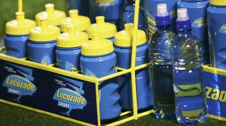Lucozade bottles