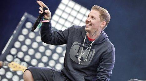 Professor Green, rapper Stephen Manderson