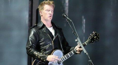 Queens of the Stone Age singer Josh Homme