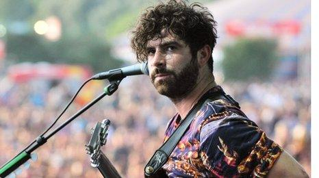 Yannis Philippakis from Foals