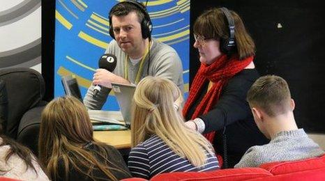 Chris Smith and Shelagh Fogarty presented the show live in Nottingham