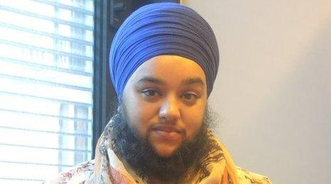 Harnaam Kaur was speaking to Nihall on BBC Asian Network