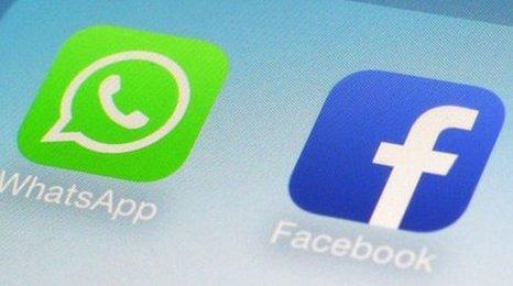 WhatsApp Facebook Logos