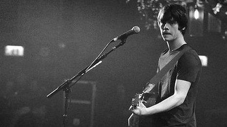 Jake Bugg on stage