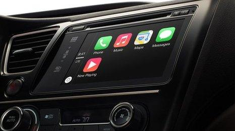 Apple's new CarPlay system