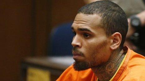 Chris Brown appears in court