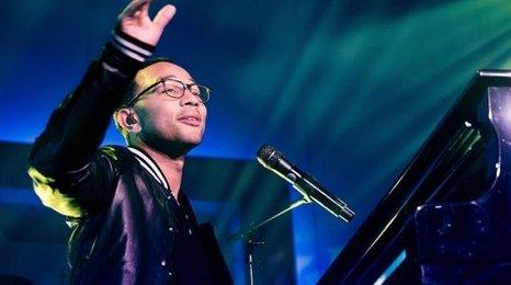 John Legend's ballad to wife tops The Official UK Streaming Chart