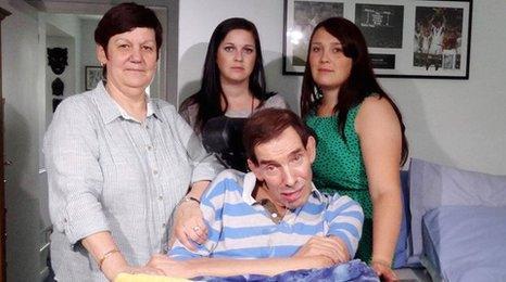 The Nicklinson family