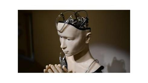 android head praying