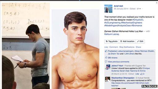 Arief's Facebook post