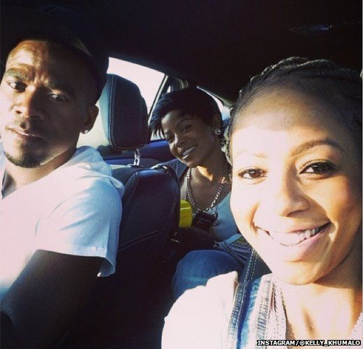 Kelly Khumalo shared a photo of herself with Meyiwa hours before he died. - _78557433_kellyinstagramphoto