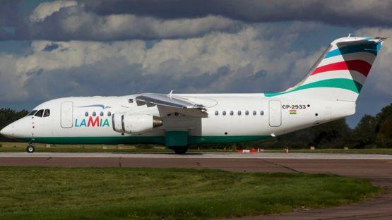 Avião RJ85 Arvo da Lamia
