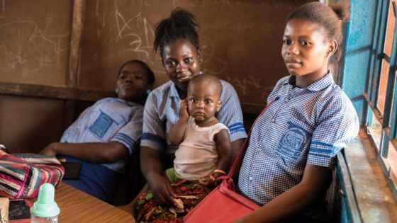 Young and pregnant in Sierra Leone