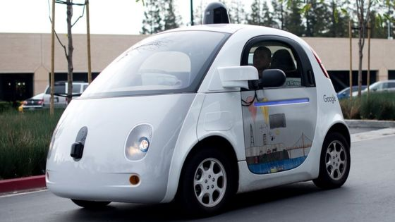 Google patents 'crumpling' car safety system
