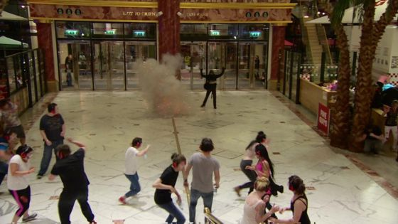 Muslim Trafford Centre 'terrorist' exercise criticised