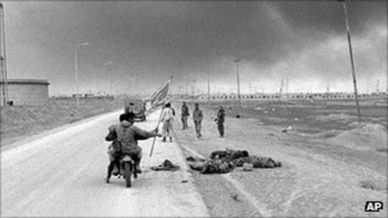 How would you compare the iraq war to world war II ?