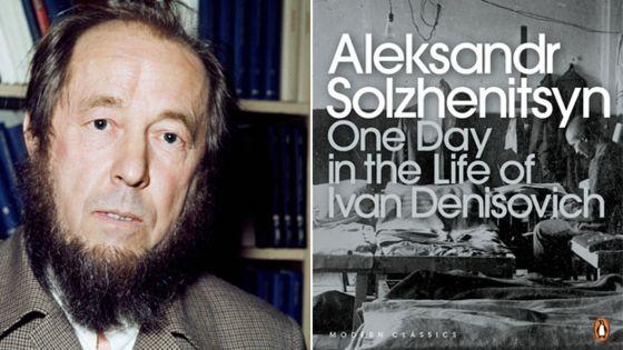 alexander Solhzhenitsyn, the spirit of the                         rebel