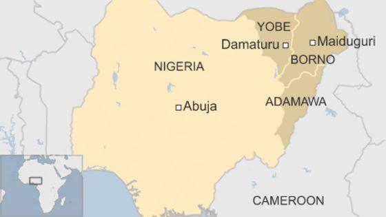 Boko Haram Militants Seize Damaturu Maiduguri Road, A Report