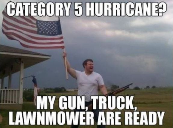 Florida Sheriff: Do Not Shoot At Hurricane