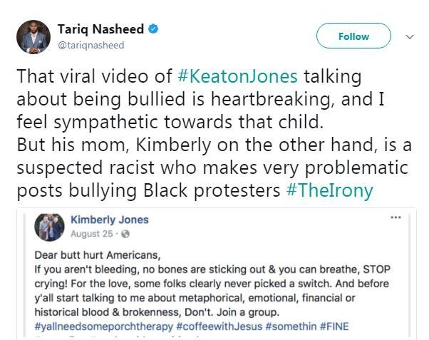 Tweet by Tariq Nasheed