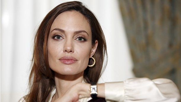 Angelina jolie without
