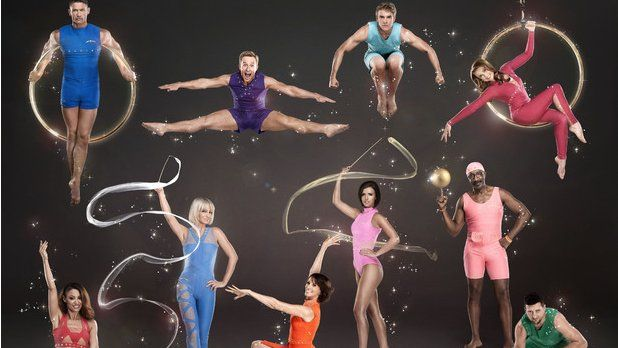 Girls Aloud singer Sarah Harding and boxer Carl Froch are two of the celebrities taking part in the new TV show Tumble.