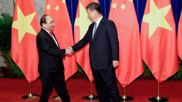 Vietnam Prime Minister Nguyen Xuan Phuc in Beijing, Nov 13, 2016
