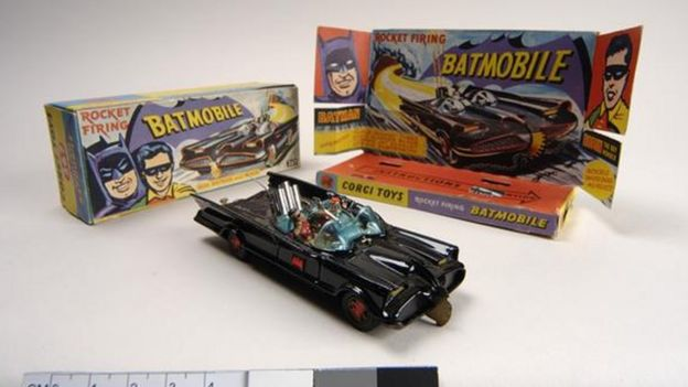 Batmobile model car
