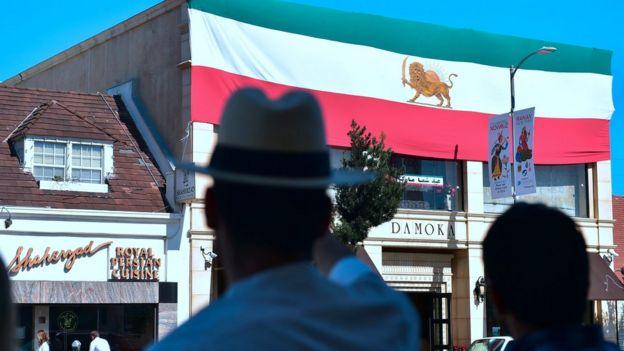 فروشگاه ایرانیان در لس آنجلس
