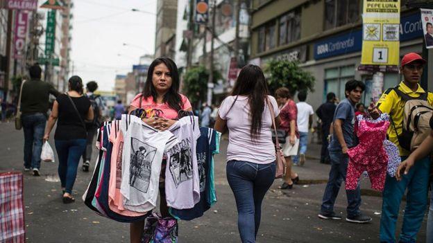 La Gamarra en Lima, Perú