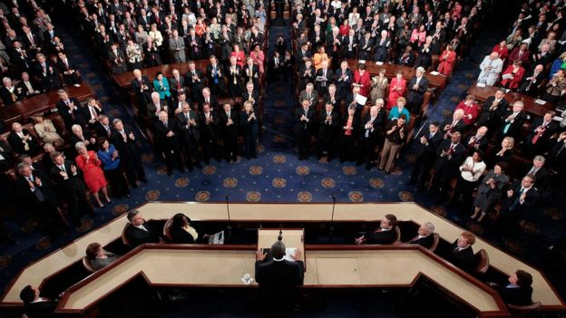 Discurso del Estado de la Unión del presidente Barack Obama en 2011.