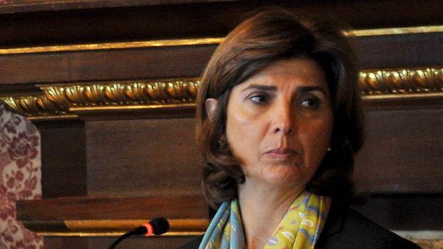 Canciller María Ángela Holguín (foto de archivo).