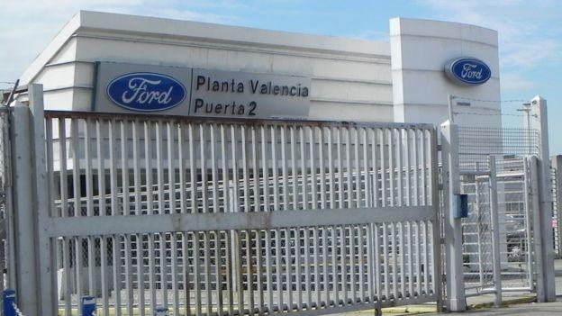 Planta de Ford en Valencia