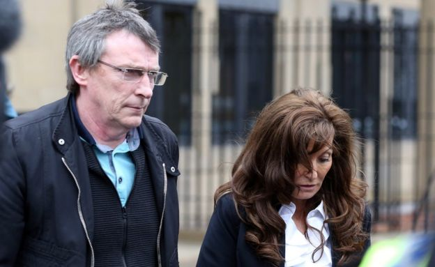 Adam Johnson's parents Dave and Sonia Johnson