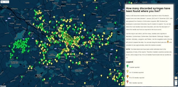 Drug map