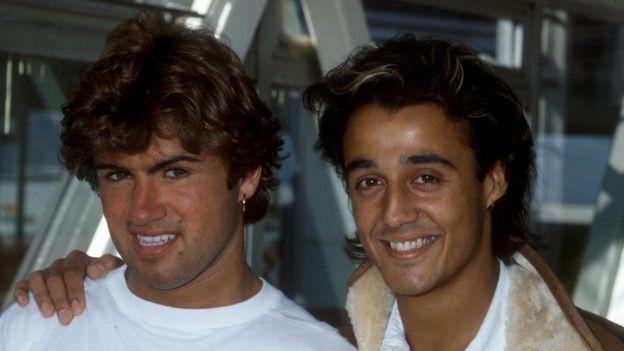 George Michael y Andrew Ridgeley