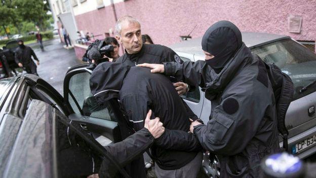 Operação policial francesa em Estrasburgo